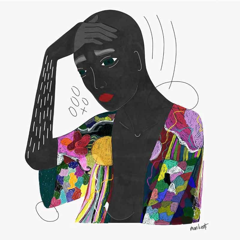 affiche festival féministe femme couleur